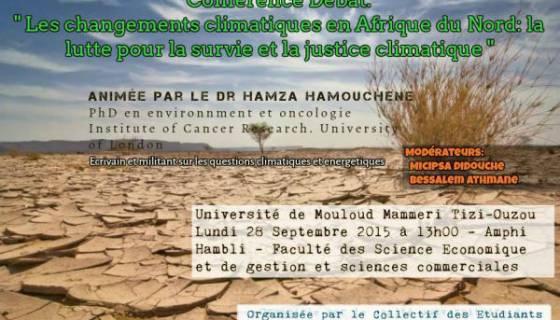 Changements climatiques en Afrique du Nord: la lutte pour la survie et la justice climatique
