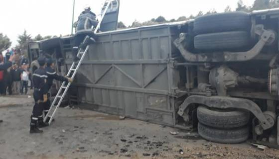 Sept morts et 34 blessés dans l'accident routier de Tiaret