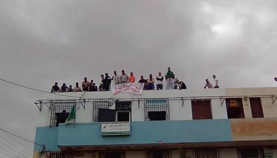 Des jeunes chômeurs menacent de se suicider collectivement à Ksar Chellala (Tiaret)