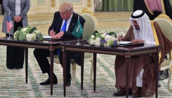 Trump et le roi Salmane signent pour plus de 380 milliards de dollars d'accords!