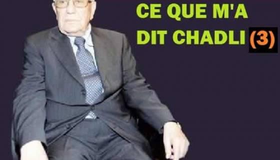 3. «Sans moi, Bouteflika aurait été jeté en prison…»