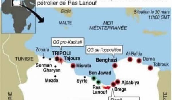 Les pro-Kadhafi reprennent Ras Lanouf, le chef de la diplomatie libyenne fait défection