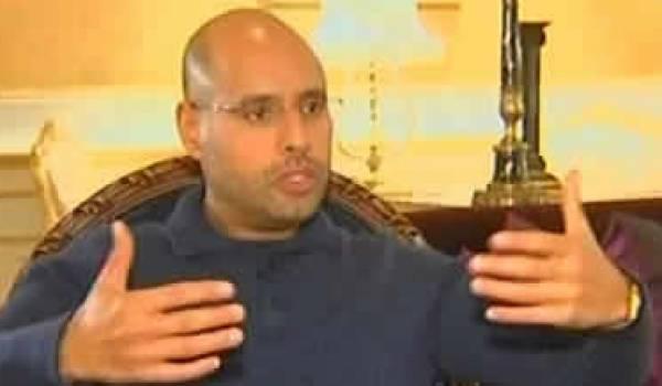 Saif al-Islam el-Kadhafi, pourrait piloter une transition politique.