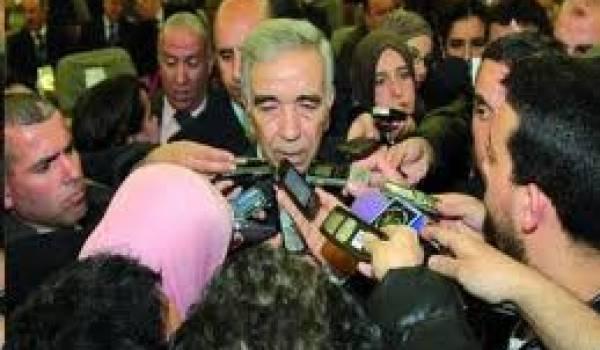 Dahou Ould Kablia, ministre de l'Intérieur