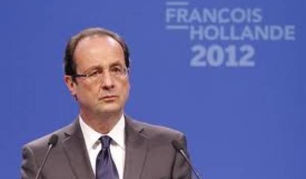 Avec 28,4%, François Hollande arrive en tête de la présidentielle française