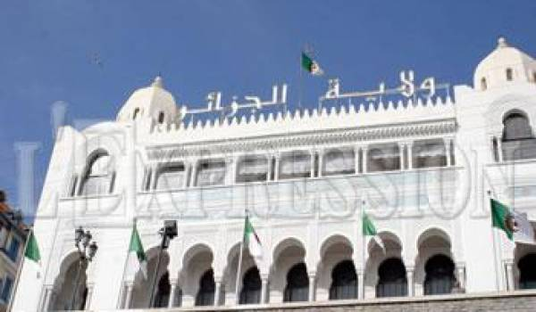 La wilaya d'Alger