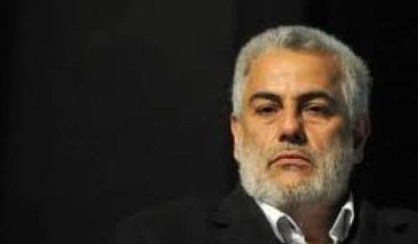 Abdelilah Benkirane, premier ministre marocain.