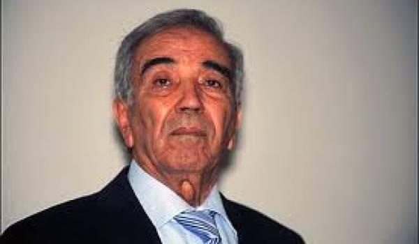 Ould Kablia, ministre de l'Intérieur.