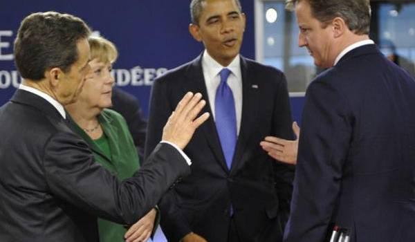 Obama, Merkel, Cameron et Sarkozy