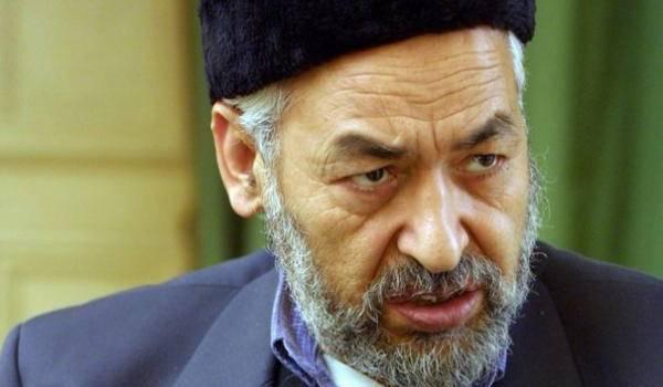Rached Ghennouchi, leader d'Ennahda