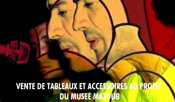 Rencontre et vente de tableaux au profit du musée Matoub Lounès