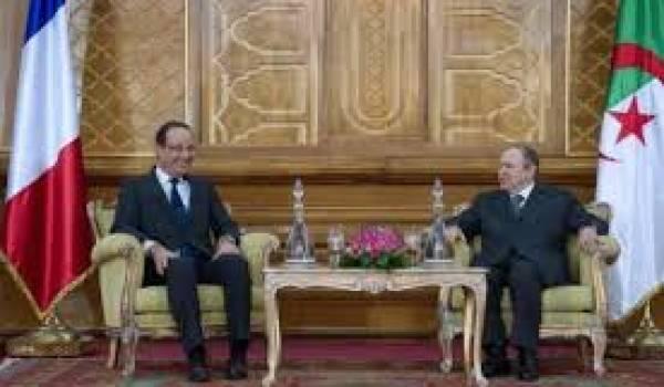 Elle est loin cette image d'un Bouteflika au sourire carnassier, recevant un Hollande débonnaire.