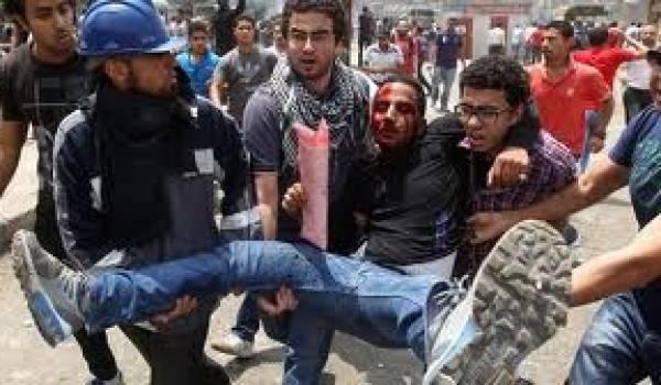 Des scènes d'affrontements et de lynchages ont émaillé les manifestations.