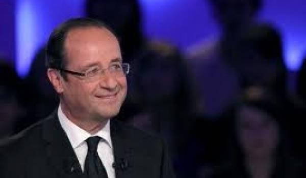 François Hollande, candidat du PS à la présidentielle française.