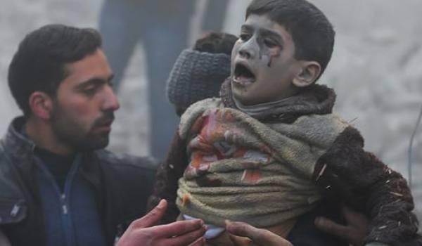 Depuis cinq ans, le peuple syrien vit une insoutenable guerre.