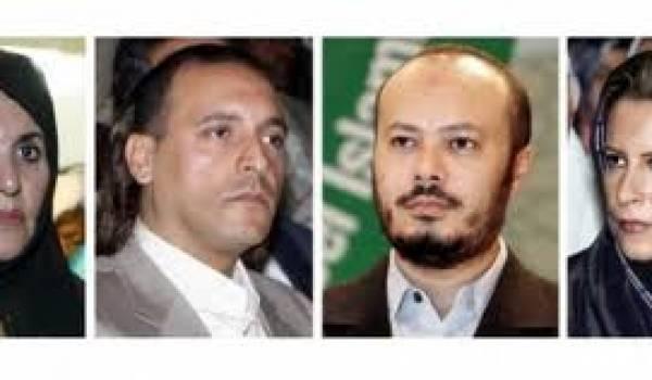 Les membres de la famille Kadhafi réfugiés fin août en Algérie.
