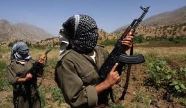 Des partisans du PKK.