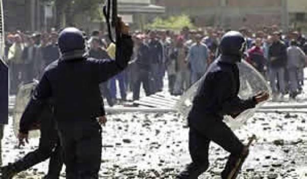 Augmentation des prix : Violentes émeutes à Oran
