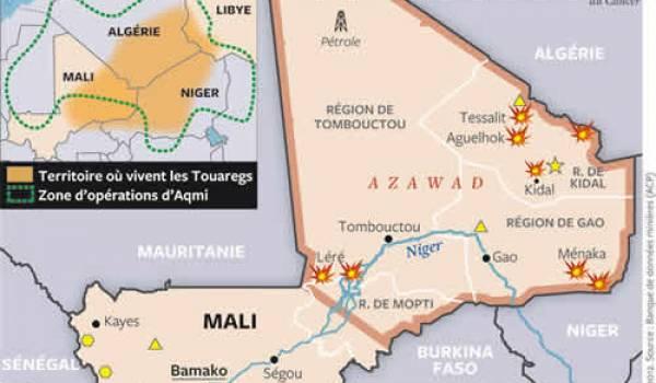 Mali : les rebelles touaregs entrés à Gao, la junte menacée