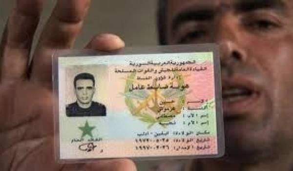 Le colonel Hussein Mustafa exécuté par le régime syrien.