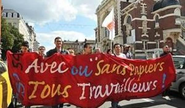 Les sans papiers de Lille