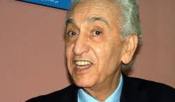 Hocine Aït Ahmed, 86 ans, président du Front des forces socialistes. Photo Siwel.