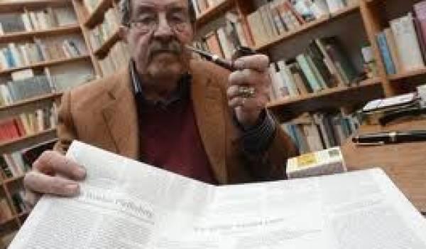 Gunter Grass, écrivain allemand et prix Nobel de littérature.