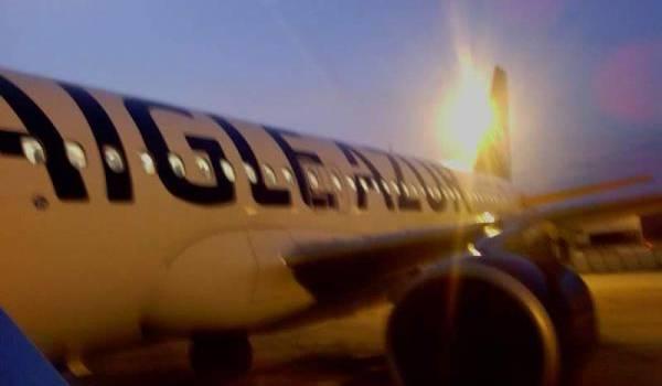 Le ZI460 atterrit à Orly-Sud à 6h.