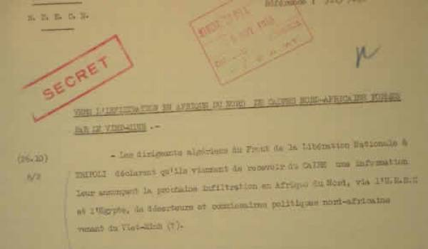 Des milliers de documents d'archives sont détenus en France.