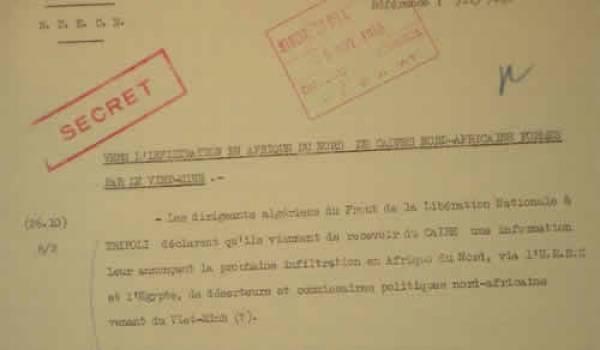 Des milliers de documents d'archives sont détenus en France.