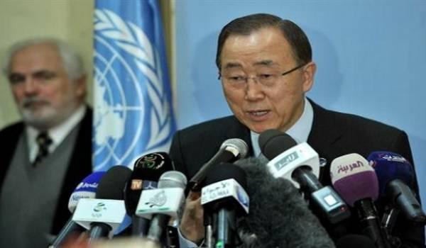 Ban Ki-moon a obligé Sellal à s'exprimer en tamazight.