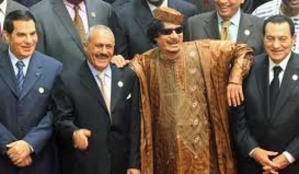 Les dictateurs déchus.