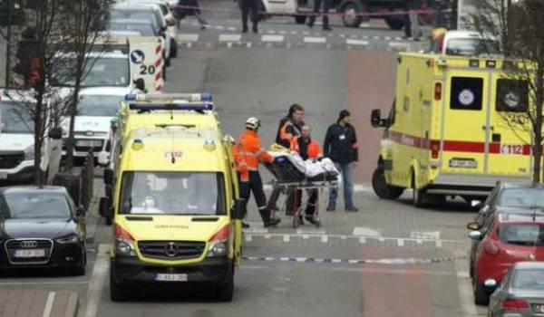 Bruxelles visé par deux attentats suicides