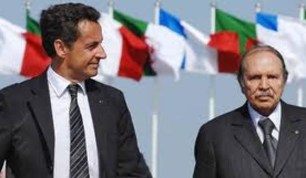 Sarkozy et Bouteflika.
