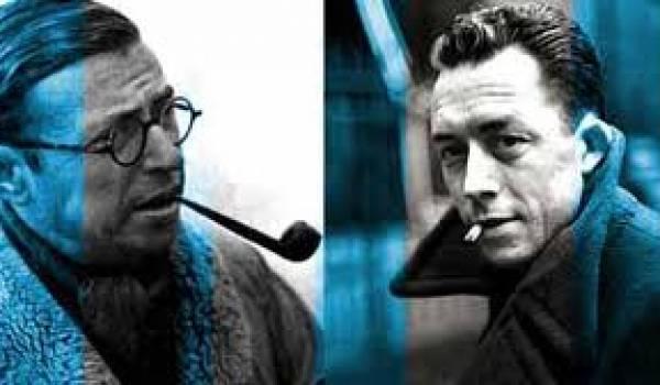 Jean-Paul Sartre et Albert Camus