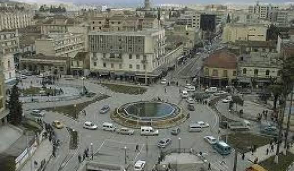 Le centre de Tizi Ouzou.