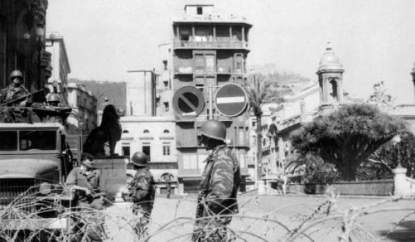 La tentation du chaos a été forte jusqu'aux derniers jours de l'indépendance de la part d'une fraction de l'armée française en Algérie.