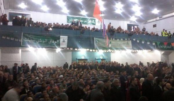 Benflis en meeting à Batna.
