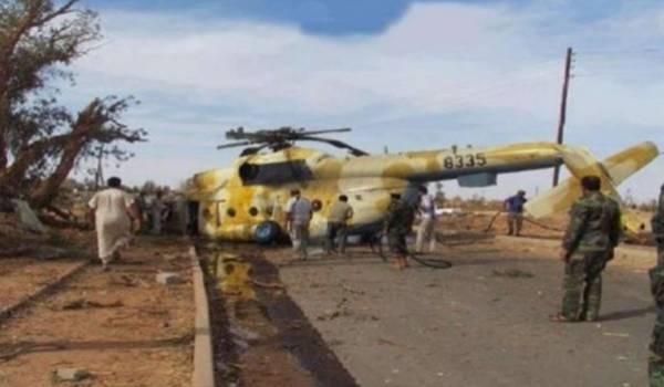 Plusieurs dirigeants de Fajr Libya seraient dans l'hélico.