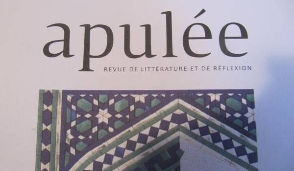 La revue Apulée.
