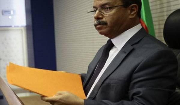 Le juge Belkacem Zeghmati