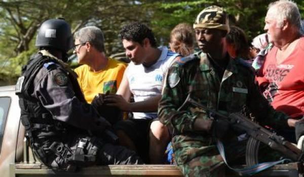 Les forces de sécurités ivoiriennes en opération.