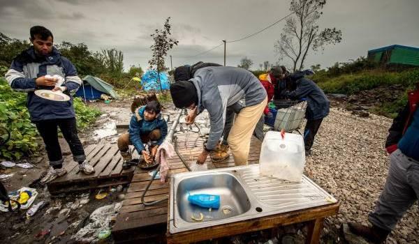 Calais où la misère du monde. Crédit AFP