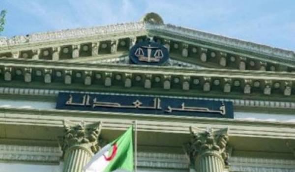 L'Algérie  a beaucoup d'efforts à faire en matière de justice
