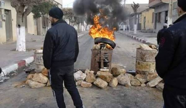 Les manifestants de Oued El Ma ne décolèrent pas.