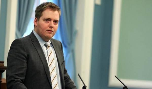 Le premier ministre islandais Sigmundur Gunnlaugsson