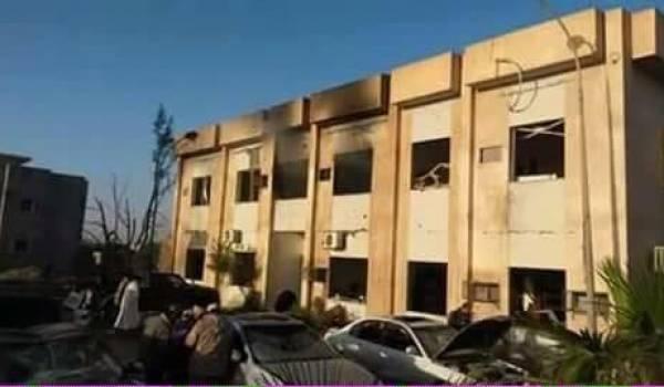 Un centre d'entraînement ciblé par un attentat.