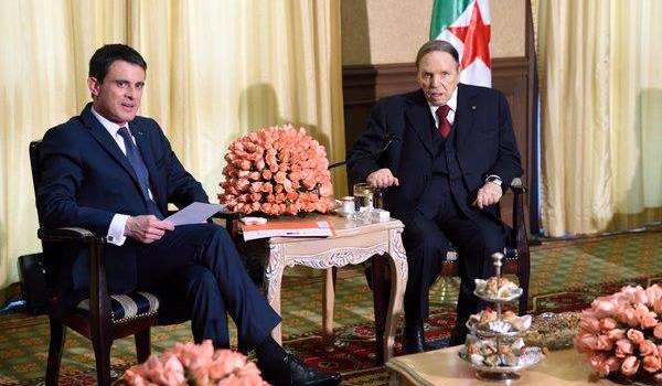 L'image de Bouteflika lors de la venue de Manuel Valls dimanche a choqué plus d'un Algérien.