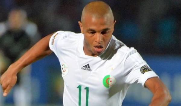 Brahimi, l'homme du match.