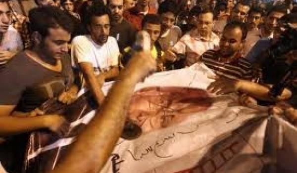 Une vive tension s'est installée entre les deux tour de la présidentielle égyptienne.